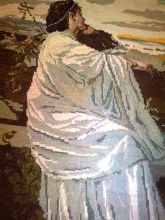 Iphigenia Original Wiehler Gobelin Tapestry / Authentic
