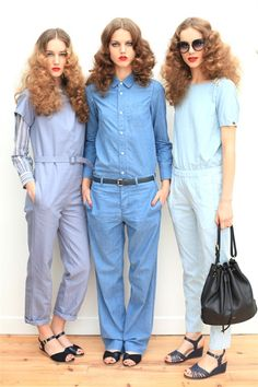 Jump suits!    A.P.C. Spring summer 2013