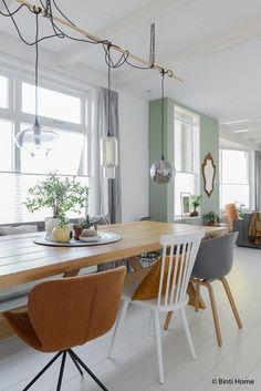 Interior Inspiration look inside dining gray wall ©️️ BintiHomestudio
