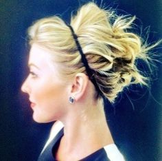 julianne hough updo with headband how to - Google Search
