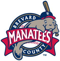 #8 Best Logo in Minor League Baseball - Brevard County Manatees