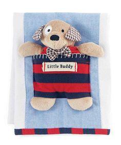 Red Burp Cloth & Dog Rattle #zulily #zulilyfinds
