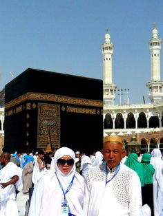 Makkah - with beloved Papi