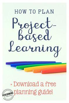 Es muy útil tener presente los pasos que hay que seguir cuando planificamos un aprendizaje basado en proyectos: elección del tema, elaboración pregunta-guía, aprendizaje colaborativo...