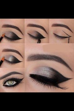 Beautiful, easy eye makeup!