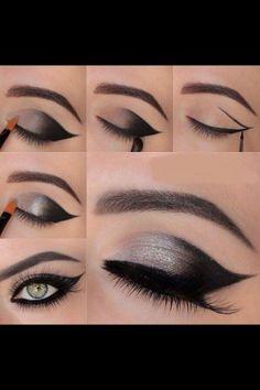 Beautiful, easy eye makeup!