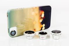 Photojojo Camera Lens Set for iPhone Cool stuff