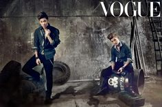 TVXQ talks about their comeback in 'Vogue Korea'