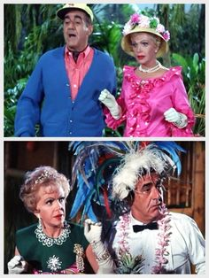 Gilligan's Island (1964-1967) - Lovey and Thurston Howell, III