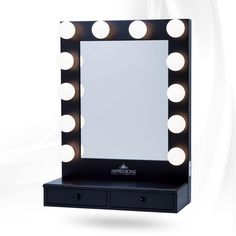 Hollywood Vogue Vanity Mirror with Drawers