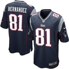 New Men's Blue NIKE Game New England Patriots #81 Aaron Hernandez Team Color NFL Jersey | All Size Free Shipping. Size S, M,L, 2X, 3X, 4X, 5X. Our massive selection of Men's Blue NIKE Game New England Patriots #81 Aaron Hernandez Team Color NFL Jersey coupled with our competitive prices, fast shipping and friendly service for nike jerseys is why we are the largest fan shop online. $79.99