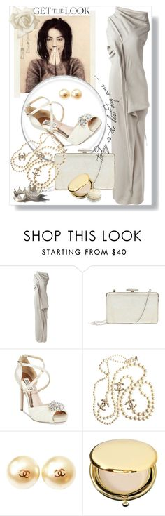 """""""Get the Look: Met Gala 2016"""" by wuteringheights on Polyvore featuring moda, Patricia Nash, Rick Owens, Judith Leiber, Badgley Mischka, Chanel, Estée Lauder, Chantecaille, GetTheLook i MetGala"""