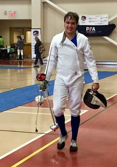 Congratulations to DFC fencer Jimmy W on earning GOLD in the Div II men's event at the Midwest ROC/RJCC in Illinois. Very well fenced