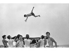 ''Beach Blanket Toss'', 1955