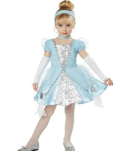 Cinderella Deluxe Toddler Girls Costume
