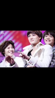 Kai EXO-K. Minho and Taemin SHINee