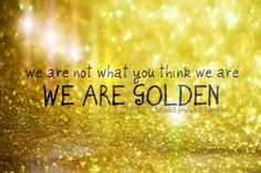 "Mika - ""We Are Golden"" ... lol my favorite song in like fourth grade but its still amazing!"