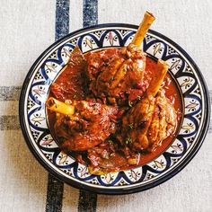 Lamb shank and tomato tagine | Sabrina Ghayour Recipes | Comfort Food recipes | Red Online