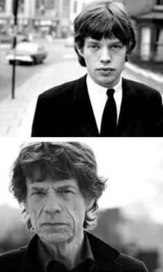 """Mick Jagger. My Mom refers to him as """" Ol' Mickey-Poo"""". Cracks me up every time."""