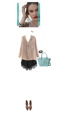 """Shein shorts"" by blueeyed-dreamer ❤ liked on Polyvore featuring contest, shorts and shein"