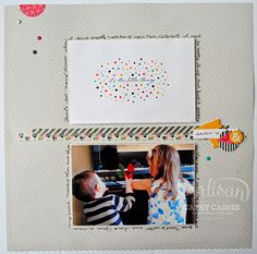 Project Life   Stampin' Up! = Love | AWW by Cathy Caines @Stampin' Up!