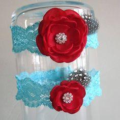 Hey, I found this really awesome Etsy listing at https://www.etsy.com/listing/186856006/blue-wedding-garter-set-tiffany-blue