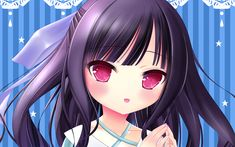 Download wallpapers Momijidani Nozomi, manga, Angels 3Piece, Tenshi no 3P