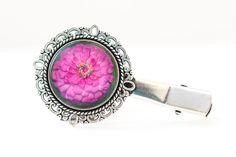 Spinka z ogrodowym kwiatem / Garden flower hairpin - Art-Of-Nature