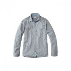 Daymer Shirt | Cotton / Merino Wool Blend | Finisterre UK
