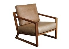 Clarens Chair. Available in Bovine Hazelnut