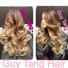 High Contrast Ombre by Guy Tang. I'm obsessed with Guy Tang but apparently a trip to Cali just to get your hair done is not practical. Blah