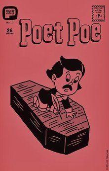 R. Sikoryak's comic Poet Poe #1
