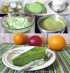 Low Carb Crustless Baked Green Tea Cheesecake (Atkins Diet Phase 2 Recipe) | Diet Plan 101