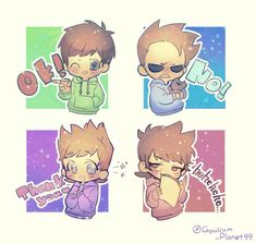 cositoooooooooooooooooooooooos <3 Eddsworld Comics, Cute Comics, Funny Comics, Gravity Falls Funny, Tomtord Comic, Eddsworld Memes, How To Make Animations, Cute Chibi, Star Vs The Forces Of Evil