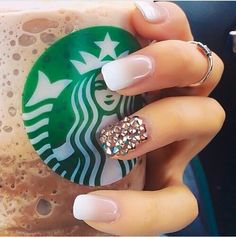 french nails black Ring Finger Super Diy Crafts For Teen Girls Easy Lip Balm 62 Ideas Coming soon . Fancy Nails, Cute Nails, Pretty Nails, Nails Gelish, Teen Nails, French Tip Nails, Living At Home, Fabulous Nails, Cute Nail Designs