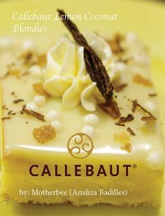Good News Newbees! Motherbee is now officially a Callebaut Chocolate Hero and for the month of may here is the first recipe she created.  Lemon Coconut Blondies.  #callebautchocolate #chocolatehero  https://www.facebook.com/buzzbuzzfood/videos/319208415169858/ #welove2promote #digitalproducts #software #makemoneyonline #workfromhome #ebooks #arts #entertainment #bettingsystems #business #investing #computers #internet #cooking #food #wine #ebusiness #emarketing #education #employment #jobs…