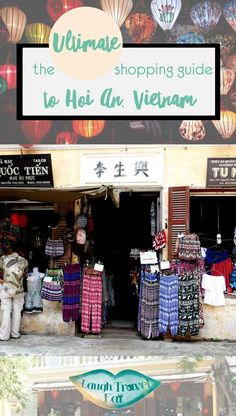 Hoi An is famous for its tailors, but there is more shopping you can do in this gorgeous little town than having dresses and suits made. In fact, I think the real hidden gems you can buy are something else entirely. Having spent 6 days roaming around Hoi An, I have plenty of time to poke around and do some window shopping, and here are what you can shop in Hoi An: