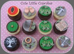 Lord of the Rings / Hobbit Cupcakes