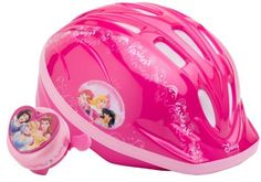 Princess Unisex-Child Microshell Helmet with Bell (Pink) by Disney. $19.67. Ride around your neighborhood or driveway while being protected by your favorite Disney Princesses. For ages 5+. Save 11% Off!