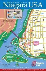 Order a walking map and see if there is a discovery map that I can order. Niagara Falls Walking Map