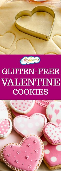 The gluten-free sugar cookie recipe you need to have on hand to cut into shapes and frost! One recipe for year-round enjoyment. The BEST recipe yet! #glutenfree #valentines