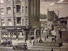 U-Bahnhof Frankfurter Allee 30er Jahre