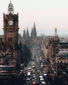 Wonderful city of Edinburgh, Scotland 🕍