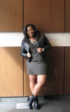 i love my rocker-inspired look. Who says curvy girls can't rock and roll? I'll definitely pull this look out again for fall 2013