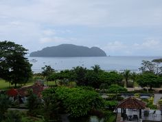 View from our room at the Marriott Los Suenos