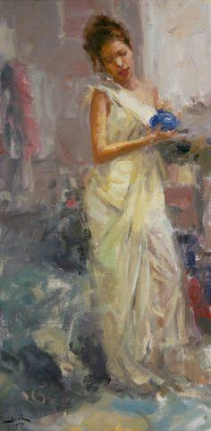 Dan Beck - American painter- is an award winning artist and sought after teacher. Impressionist Art, Impressionism, Painting Competition, Southwest Art, Portrait Art, Art Images, Dan, Art Gallery, Fine Art