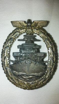 Distintivo Flotten-Kriegsabzeichen