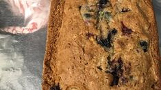 Blueberry Zucchini Bread | Allrecipes Blueberry Sour Cream Cake, Blueberry Zucchini Bread, Best Zucchini Bread, Zucchini Bread Recipes, Banana Bread, Mini Loaf Pan, Blueberries, Scones, Allrecipes