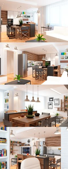 Living room, kitchen, workplace. Have a fun!