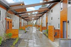The Puyallup Longhouse (WA, USA) was designed with the goal of creating a community center and beautiful, relevant and affordable housing for members of the Puyallup Tribe struggling with the challenges of increased urbanization, high unemployment and low income. Click on image for details, and visit the Slow Otttawa 'Share It' board for more great co-housing schemes.